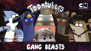 Baixar Gang Beasts na Toontubers Wrestling Federation: LUTA LIVRE LETAL VIII! | Cartoon Network