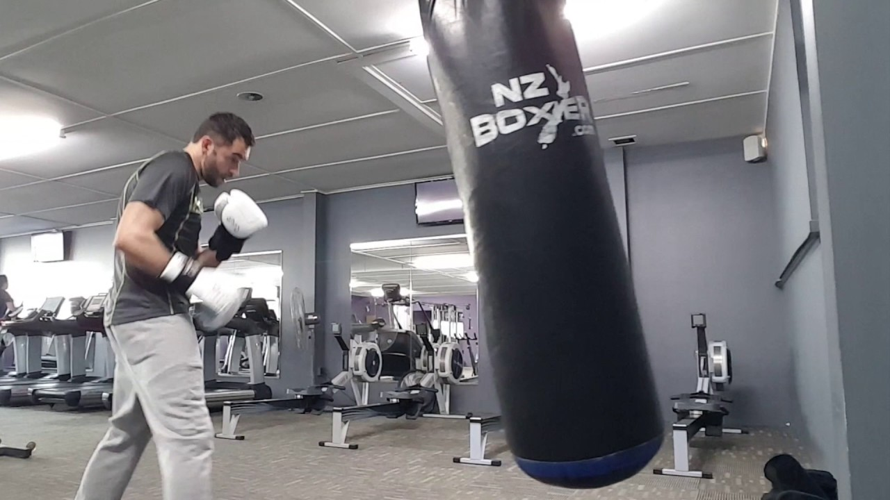 Bag Work Anytime Fitness Greenlane Auckland Counterpunch Boxing