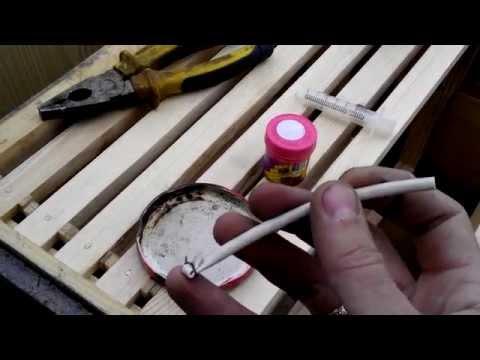 Ловля пчелиных роев эффективная ловушка