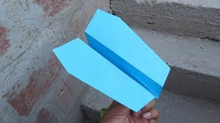 Como Hacer un Avión de Papel Que Vuela Muy Bien - How To Make Paper Airplane