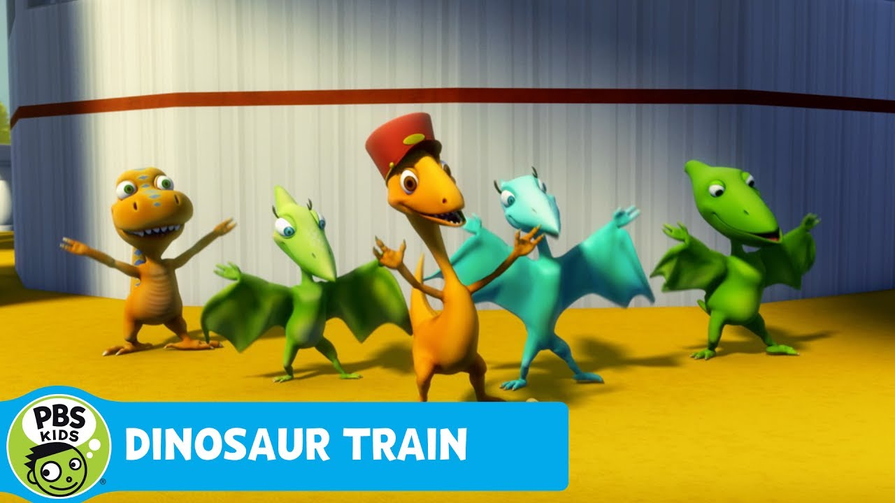 DINOSAUR TRAIN | Riding on the Riverboat | PBS KIDS - YouTube
