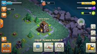 Clash of Clans Builders Base - Clock Tower