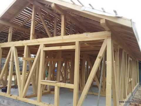 Constructii case de lemn ieftine constructia la rosu a for Case din lemn ieftine