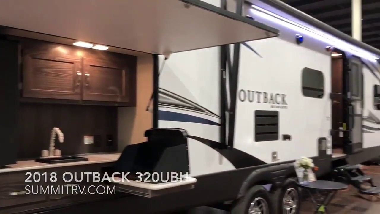 2018 keystone outback 320ubh travel trailer at summit rv in ashland ky teaser queen sized bunks youtube youtube