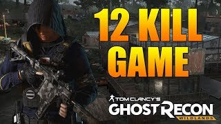 Smart Assassin Plays w/ Hibana Icon | 12 Kill Assassin Gameplay - Ghost Recon Wildlands PVP