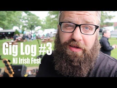 JTP Audio - Gig Log #3: NJ Irish Fest 2018