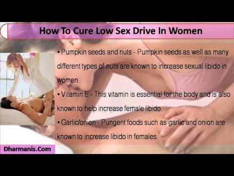 Low sex drive for women