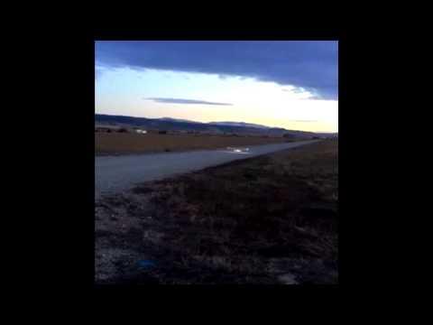 Nitro airplane LED light flight