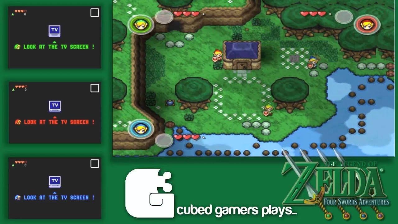 Download The Legend of Zelda: Four Swords Adventures - Multiplayer in Dolphin/VBA-M