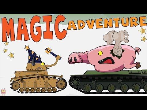 "Tank cartoon ""Magic Adventure in world of tanks"" Episode 1"