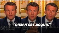 Le discours intégral du 13 avril d'Emmanuel Macron
