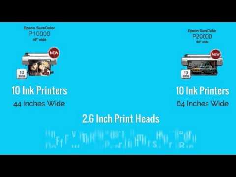 Epson Sure Color P Series Printers Comparison