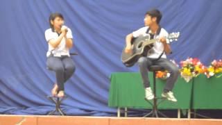Guitar Bay Lên Nhé-by GTT Club (Thùy Dương vs Tiến Cường)