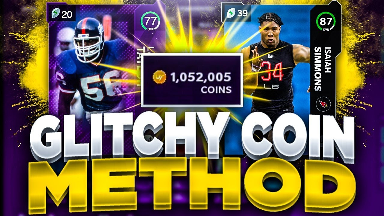 GLITCHY COIN MAKING METHODS IN MADDEN 21!! | MAKE FAST AND EASY COINS NOW MADDEN 21 ULTIMATE TEAM!!