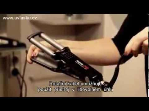 Babyliss PRO BAB2369TTE Ionic 3D Waver - YouTube 53539b6507