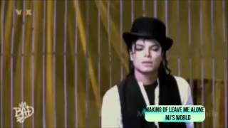 Micheal Jackson l Making of / Behind the scenes of Leave me alone l HD