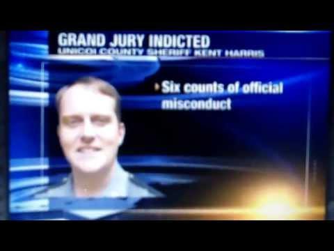 Unicoi County TN Sheriff Kent Harris Indicted: 10 Felony Charges