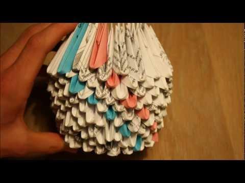 3D Origami Jewelery Box