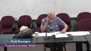 North Bennington Prudential Committee // 08/17/21