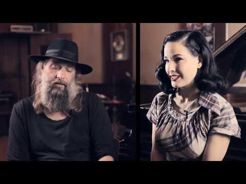 Dita Von Teese et Sébastien Tellier au sujet de leur album (interview) (VOSTFR)