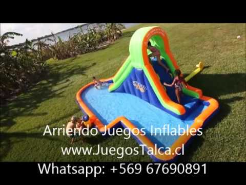 Juegos Inflables Talca Cocodrilo Parque Acuatico Camion Inflable
