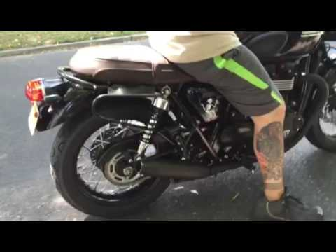 Remus For Bonneville T 120 Take 2 Youtube