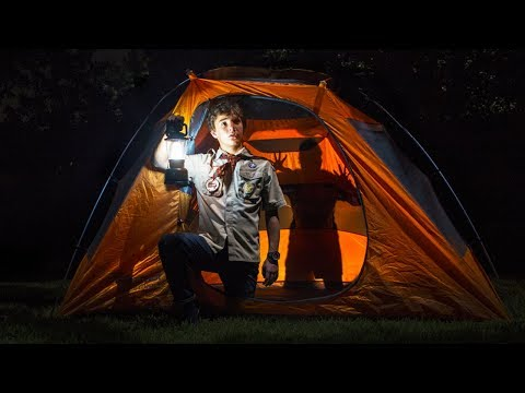 Shadow Puppets With Your Hand - Night Camping