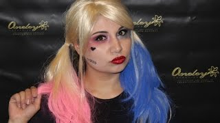 Harley Quinn (Suicide Squad) - Makeup Tutorial by Aneley Cosmetics