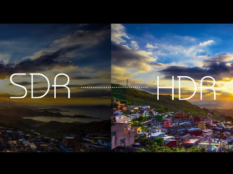 HDR - HIGH DYNAMIC RANGE IMAGING