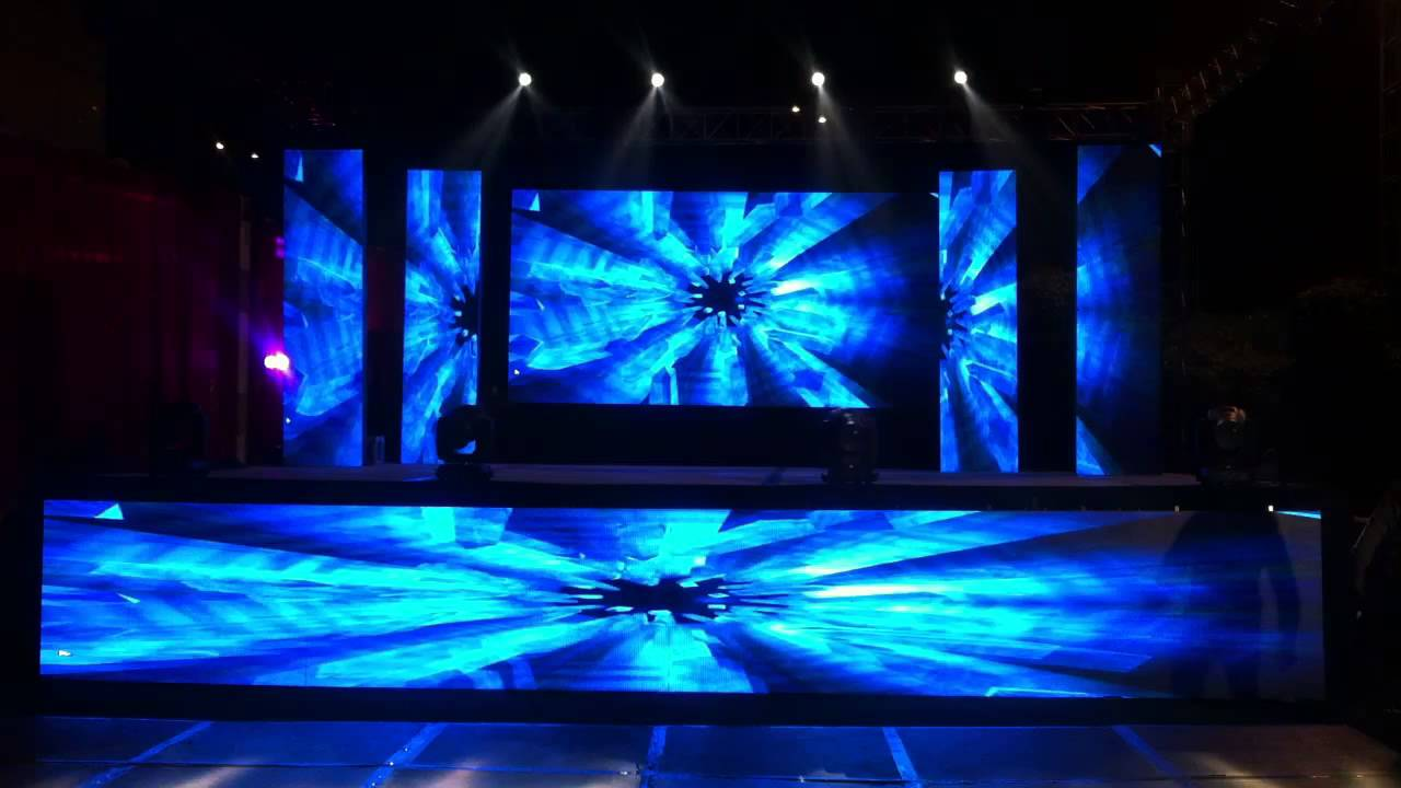 Stage Show with LED Wall Setup - YouTube