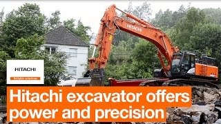 Hitachi ZX490LCH-6 offers power and precision