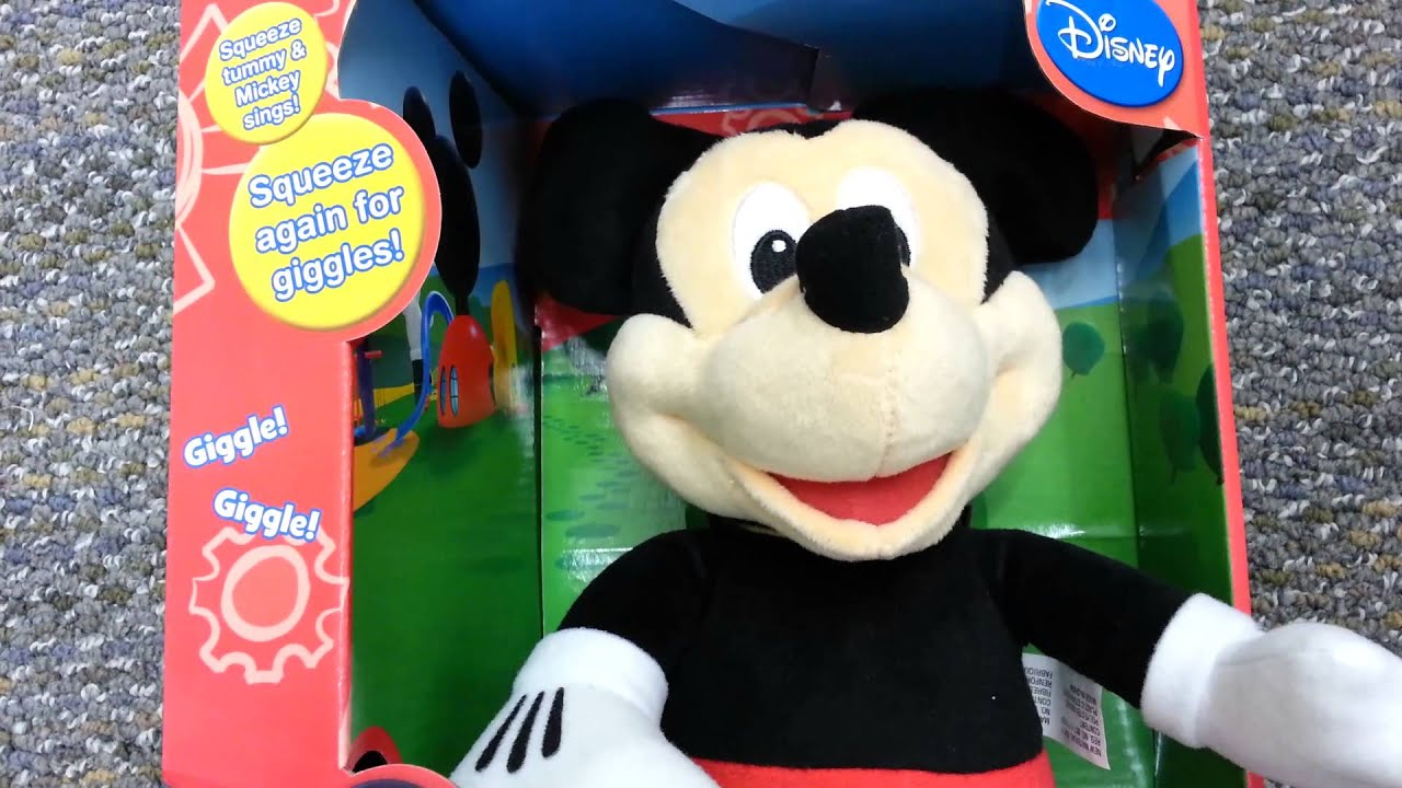 Fisher Price Disney s Sing & Giggle Mickey Mouse