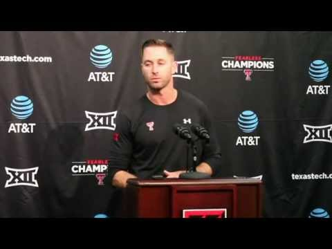 Kliff Kingsbury Discusses Patrick Mahomes