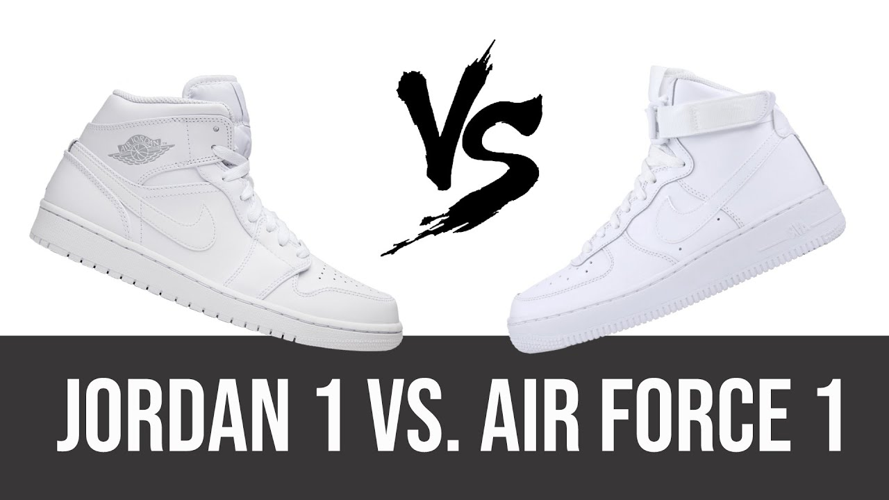 Jordan 1 Vs Air Force 1 The Story Behind The Shoes Youtube