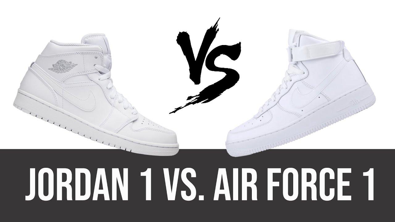 BATTLE: Jordan 1 vs. Air Force 1 | The
