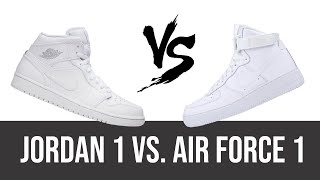 BATTLE: Jordan 1 vs. Air Force 1 | The Story Behind The Shoes