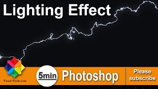 Photoshop: Lighting Effect #5 Minutes Photoshop