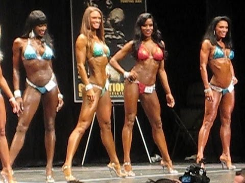 2013 IFBB New York Pro Prejudging Bikini