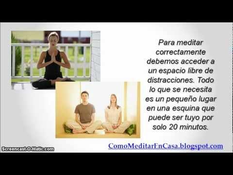Como meditar en casa en 6 pasos youtube - Meditar en casa ...