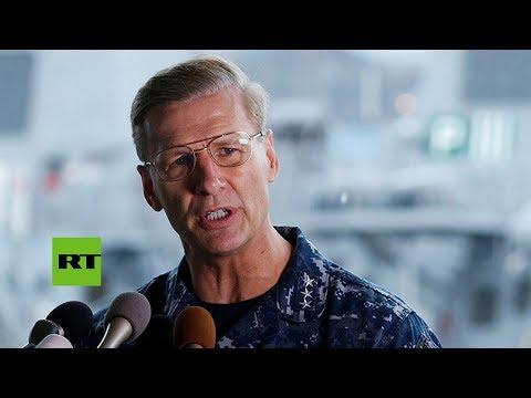 La Armada de EE.UU. cesa al comandante de la 7.ª flota