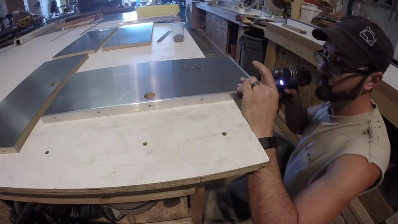 How We Install Our Stainless Steel Countertops.