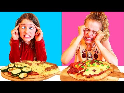 Twin Telepathy Pizza Challenge NORRIS NUTS