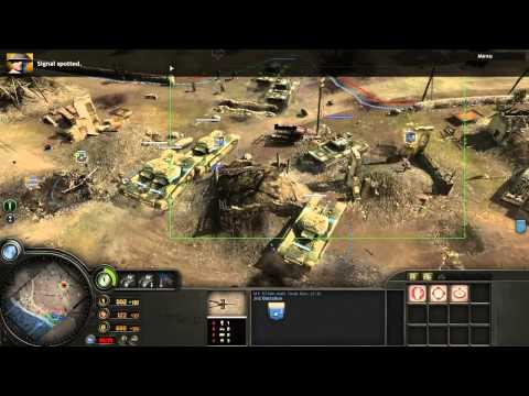 COH 1 - Opposing Fronts - Liberation of Caen - Mission 2 - Hill 112