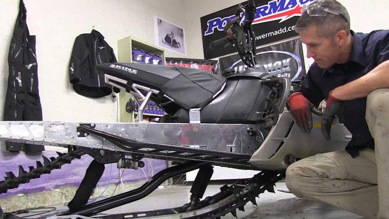 700 ski doo mod sled ep 28 ez ryde rear suspension