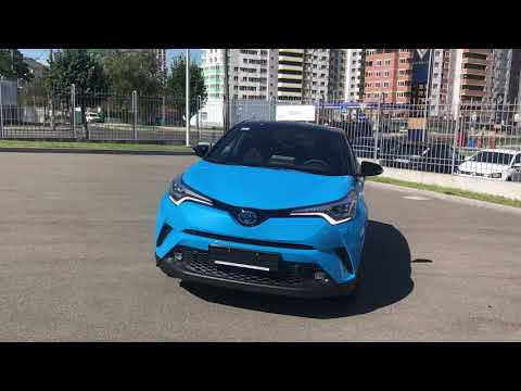 TOYOTA C-HR hybrid  STYLE BLUE COLOR 2018