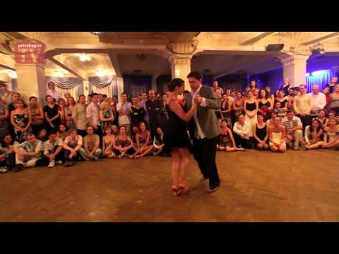 Barbara Carpino & Claudio Forte, 8th International Moscow Festival of Argentine Tango