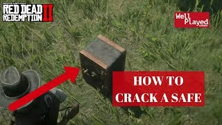 HOW TO OPEN A LOCKED SAFE IN RED DEAD REDEMPTION 2