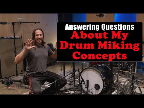 Drum Miking Techniques: Q&A About My Setups