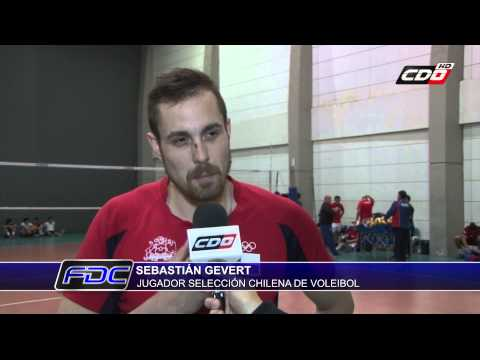 El Presente De Sebastián Gevert En La Roja Del Vóleibol Chileno