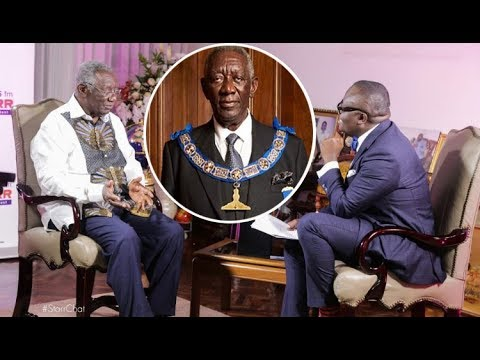 Freemason is not occult nor a secret society - Former Prez Kufuor